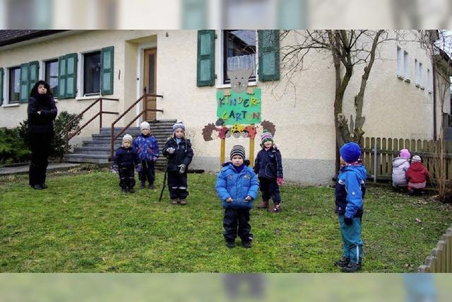 Wieder mehr Kinder im Kindergarten