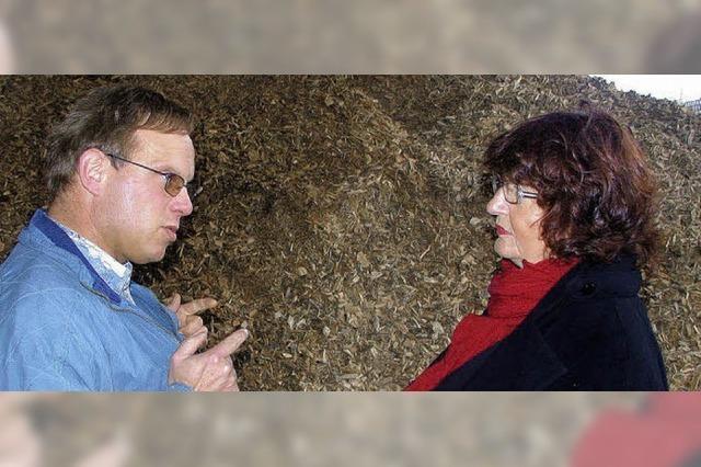 Hilfe für Bioenergiepark zugesagt