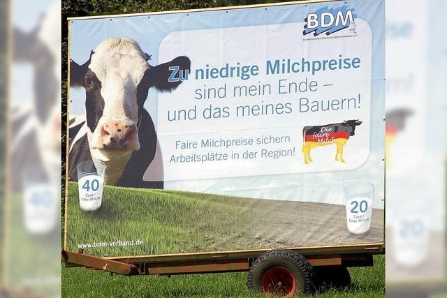 Mühsames Ringen um fairen Milchpreis