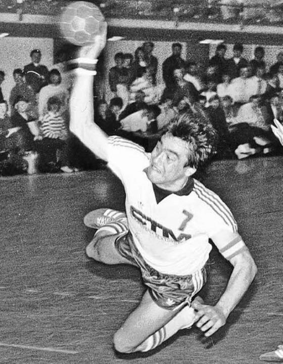 Trefflich: Wolfgang Ehrler 1985/86  | Foto: SG