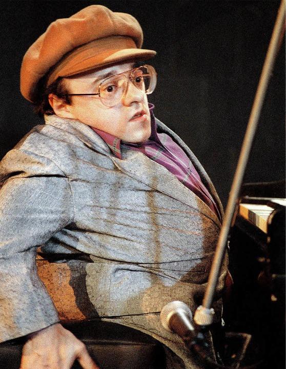 Opfer einer seltenen Krankheit:Der Pianist  Michel Petrucciani  | Foto: usage Germany only, Verwendung nur in Deutschland
