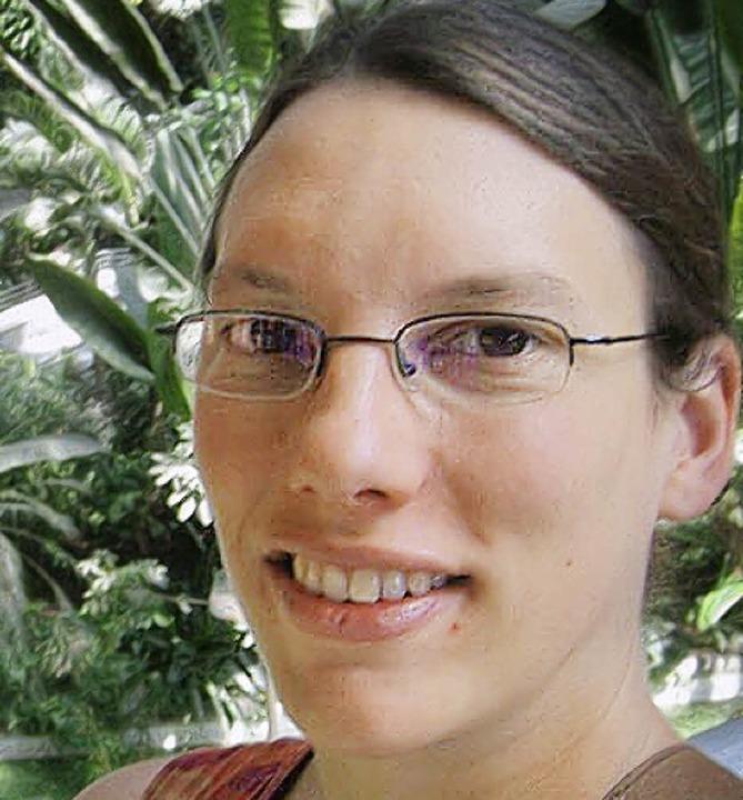 Sandrine Knieke, Pressesprecherin von Attac Lörrach   | Foto: BZ
