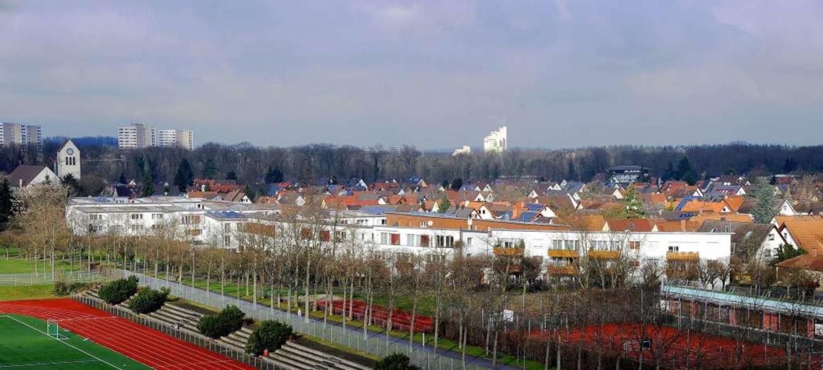 Die Siedlung liegt in der Nähe des Seeparks.  | Foto: Ingo Schneider