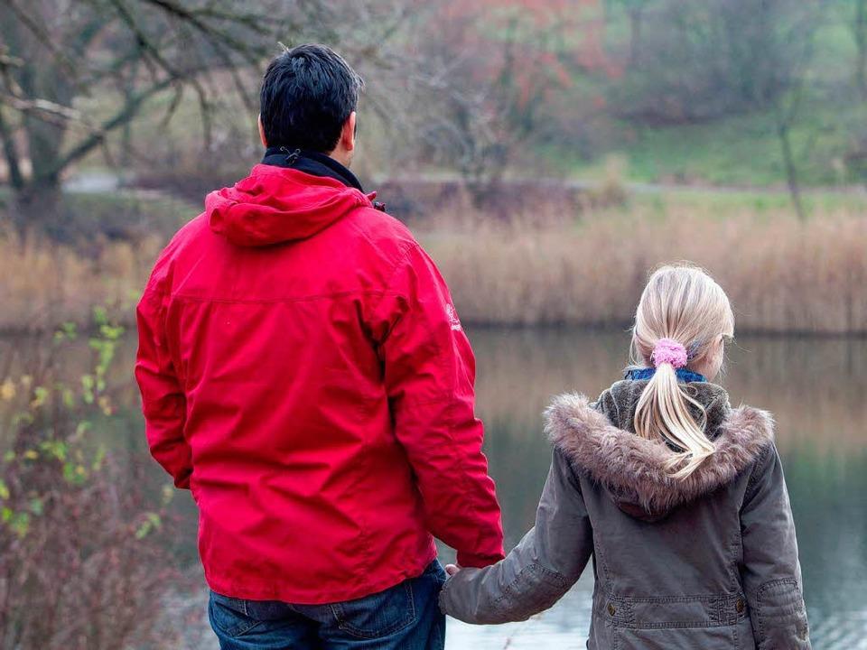 Wer darf sich wann und wie um das gemeinsame Kind kümmern?    Foto: dpa