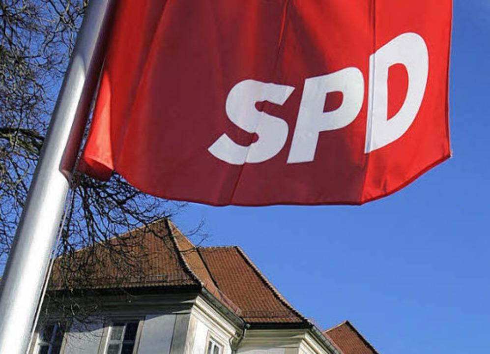 Gilt manchem  Parteifreund als Fähnchen im Wind: die Landes-SPD   | Foto: dpa