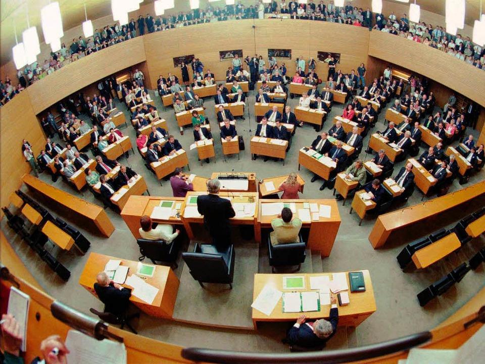 Abschweifen im Plenum – das kann peinlich werden.  | Foto: MICHAEL LATZ