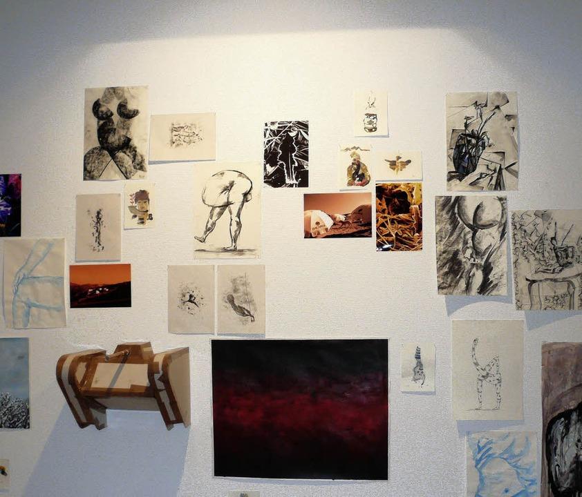 Skizzen und Studien von Studienanfängern  | Foto: Nicola Gastiger