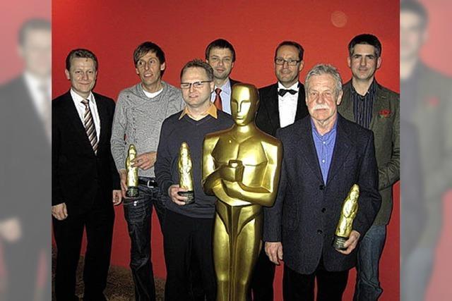 Ganter feiert im Hollywood-Stil