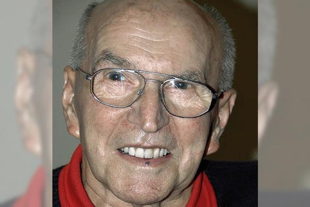 Alfred Henninger wird 80 Jahre alt
