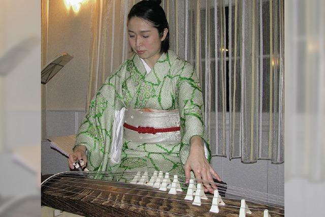 Deutsch-Japanische Gesellschaft schenkte sich ein Konzert