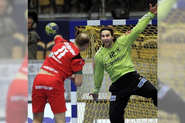 Handballer sind im Stimmungshoch