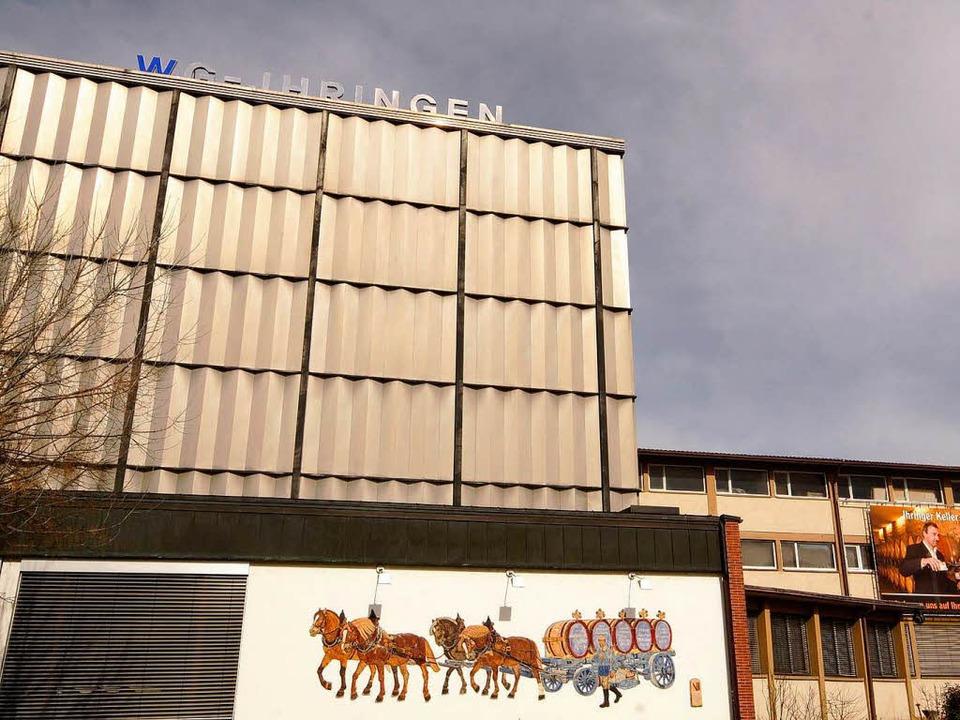 Gut laufen derzeit die Geschäfte bei der WG Ihringen.  | Foto: Hans-Peter Ziesmer