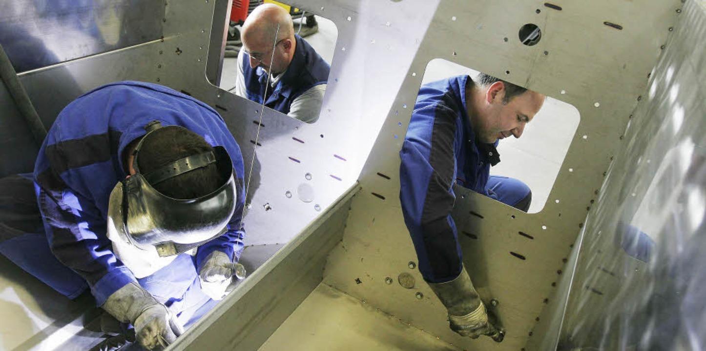 Metallverarbeitung bei der Firma KLB in Herbolzheim.  | Foto: Archivfoto: Patrik Müller