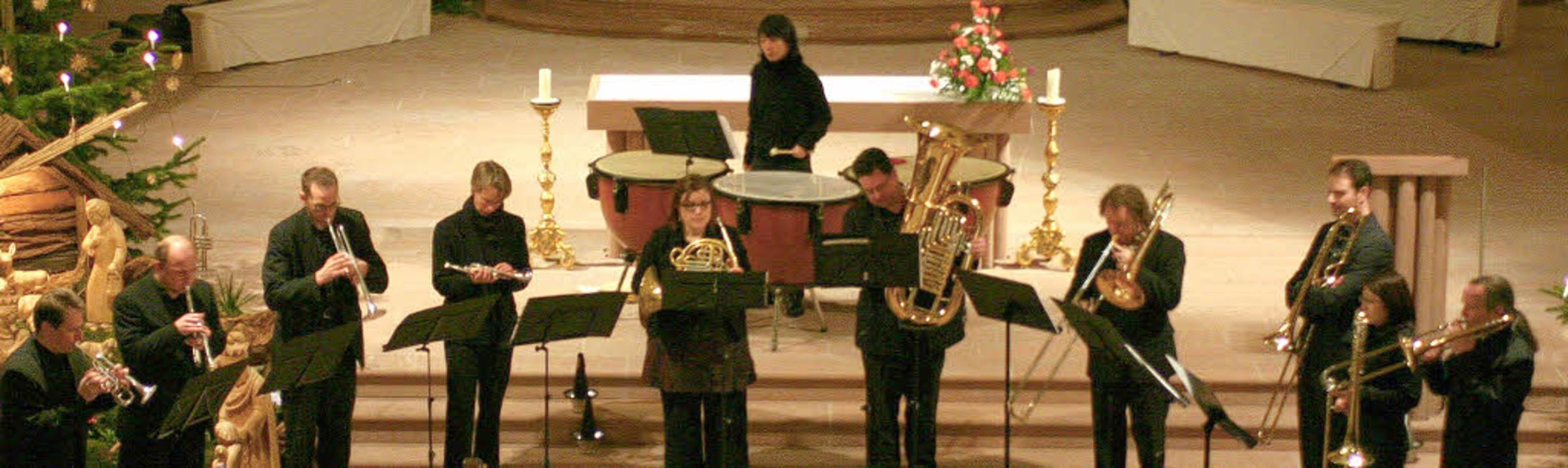 Senza Legno begeisterten am Sonntag Ab... Zuhörer in der Endinger Peterskirche.    Foto: David Seitz