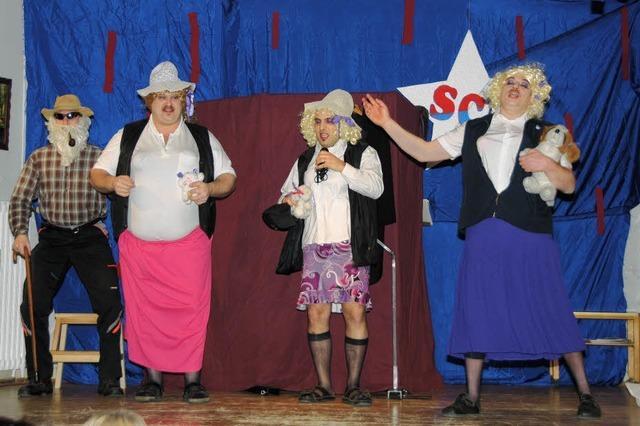 Der SCK feiert mit Gesang, Sketchen und Clown Rabe