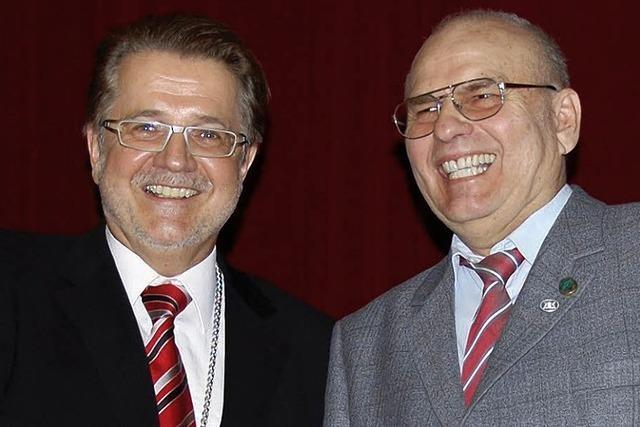 Ehrennadel des Landes für Siegfried Bomke