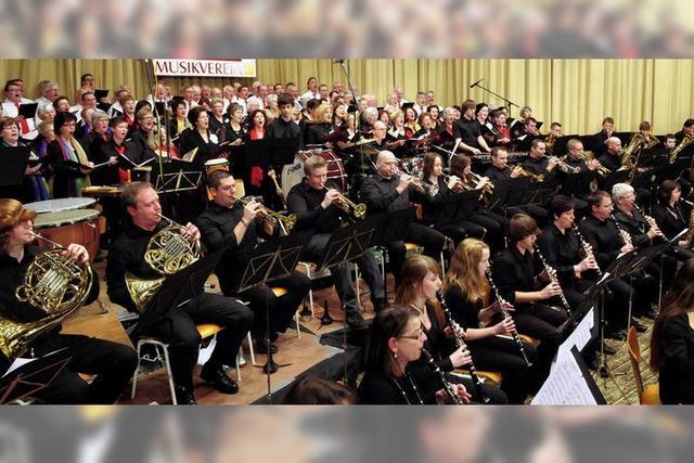 Großaufgebot auf der Konzertbühne
