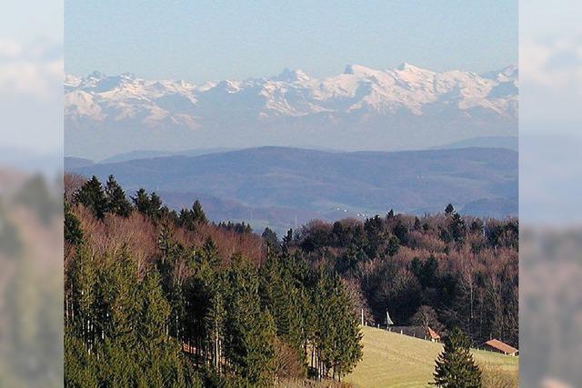 Vom Hotzenwald bis in die Schweizer Alpen