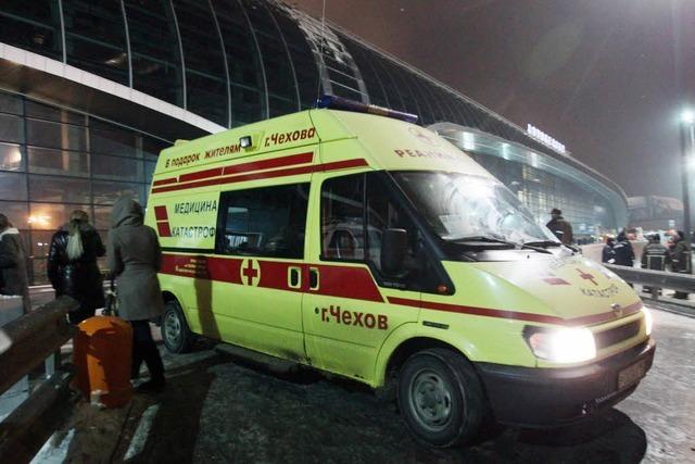 Bombenanschlag in Moskau: 35 Tote – Leiche des Täters gefunden