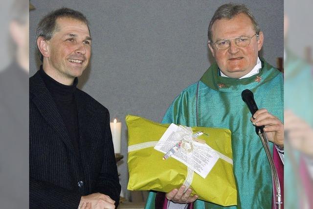 Herzlicher Auftakt für den neuen Pfarrer