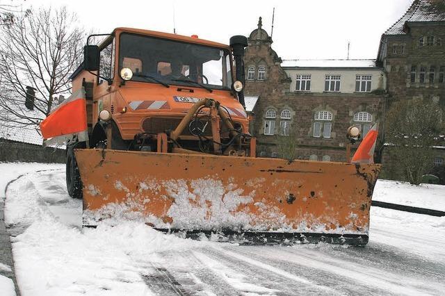 Winterdienst: Der BGL hat getan, was möglich war