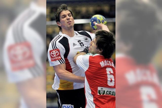 Handball-WM: Herber Rückschlag für Brand-Team