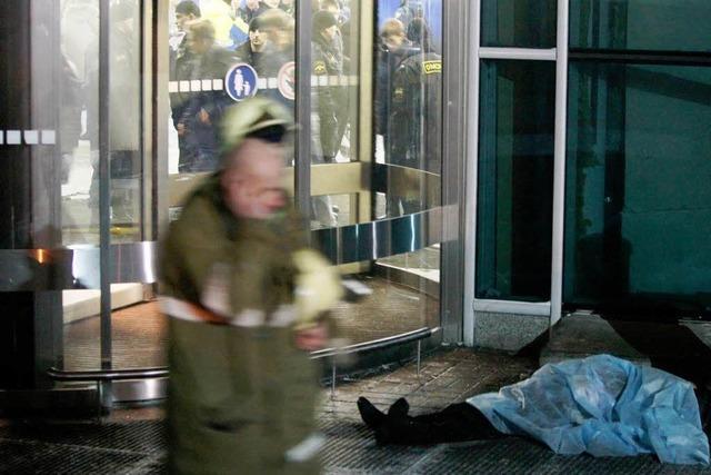 Ein toter Deutscher unter Terroropfern in Moskau