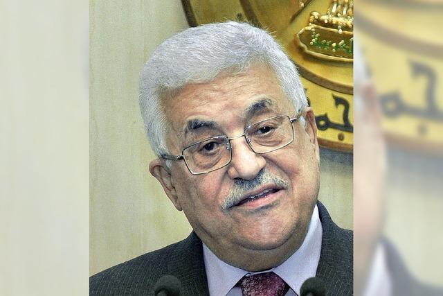 Palästinenser sprechen von einem Sack voller Lügen