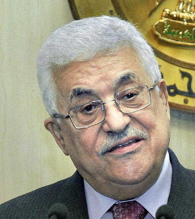 Die Veröffentlichungen setzen  Mahmud Abbas unter Druck.  | Foto: AFP