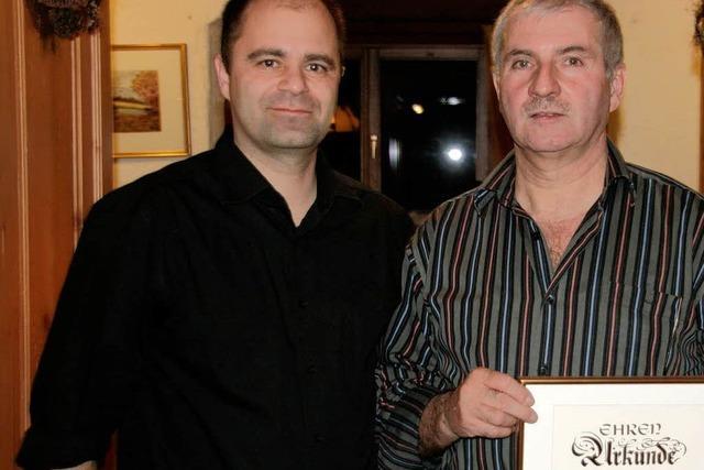 Lothar Jäger ist Ehrenmitglied