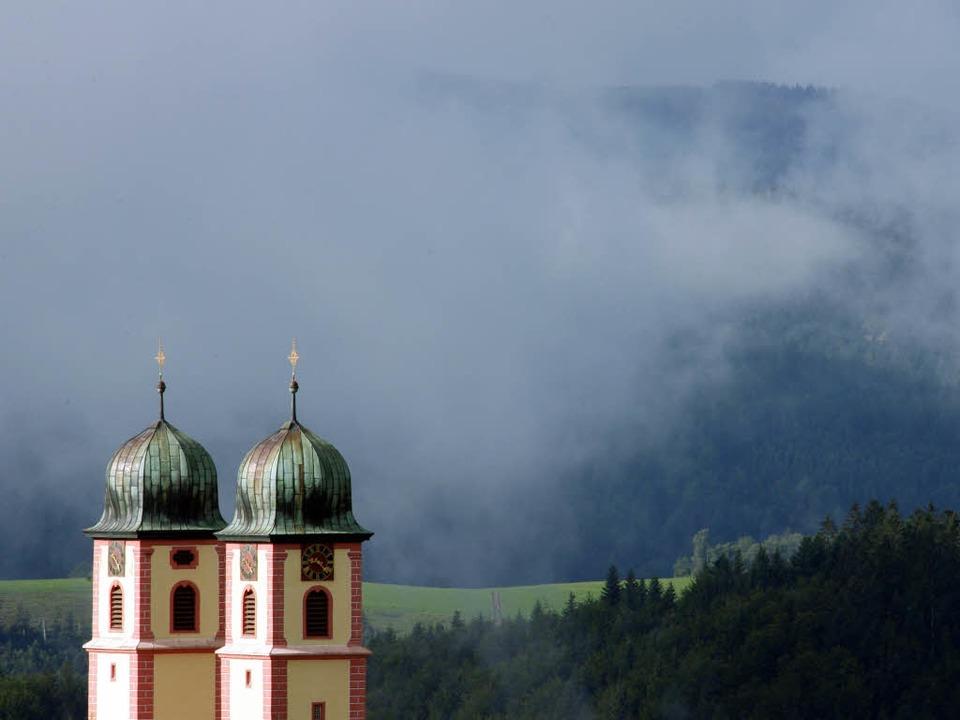 Die Kirche von St.Märgen    Foto: dpa