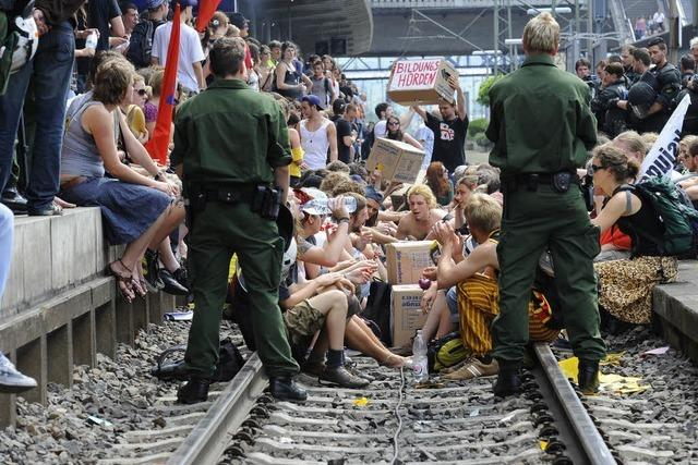 20 Arbeitsstunden wegen Gleisblockade