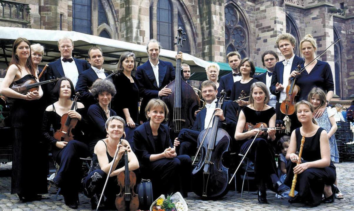 Auf diesem Archivbild noch vorm, demnä...ünster: das Freiburger Barockorchester  | Foto: dpa