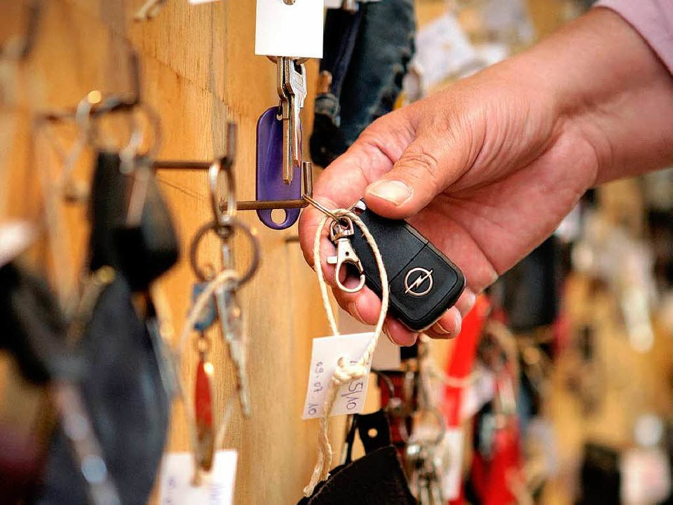 Besonders gern werden Schlüssel verlor...rweise meist bei Fundbüros abgegeben.   | Foto: Fotos: Ingo Schneider