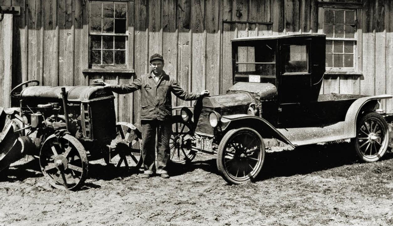 Autos, die die Wende zur Massenmotoris... Topolino von 1936  (l. u.)<ppp></ppp>  | Foto: © 2008 Ford Motor Company