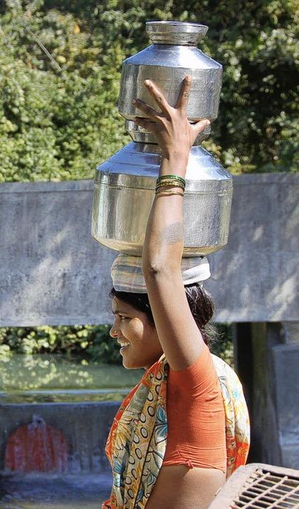Indienhilfe - Wasser ist Leben  | Foto: Andrea Steinhart