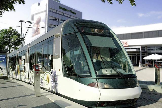 Straßenbahn hat höchste Priorität