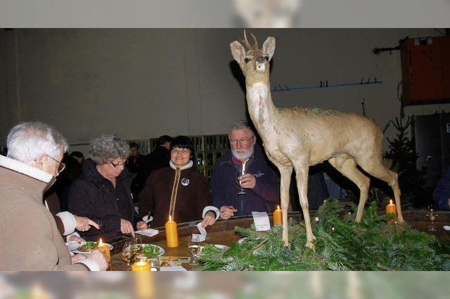 Volles Haus bei der kulinarischen Jagd
