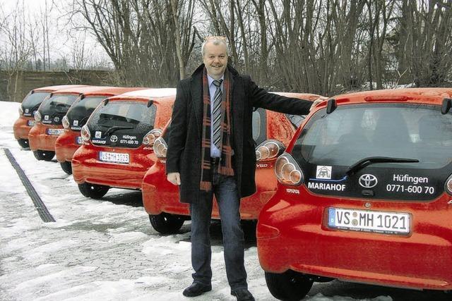 Mariahof erhält zehn neue Fahrzeuge