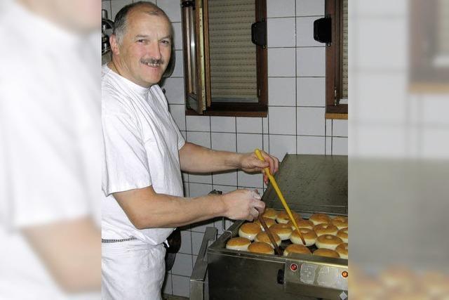 Wenn der Bäcker nicht wirkt, heißt es, er habe im Brot geschlafen