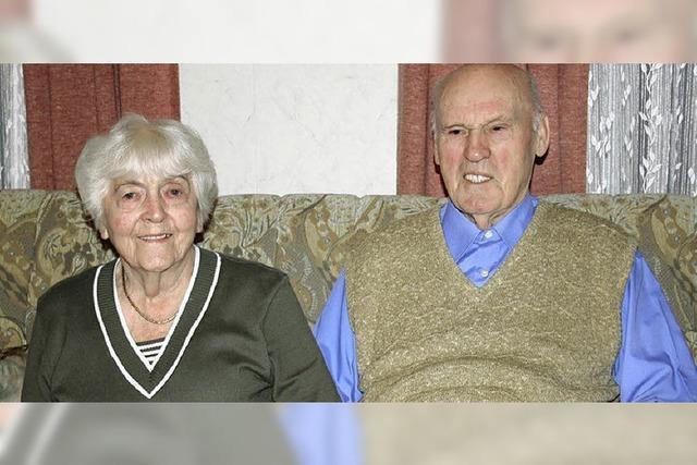 60 Jahre gemeinsam durch dick und dünn gegangen