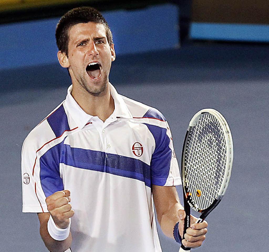 Diät eines Tennisspielers