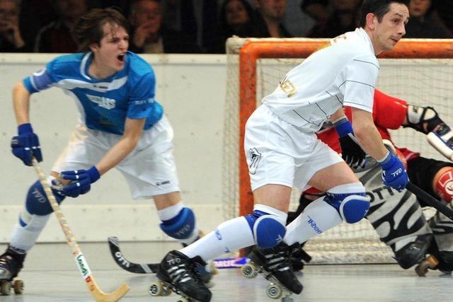Rollhockey-Derby Friedlingen gegen Weil