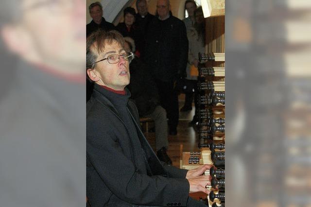 Italienische Musik des Barock auf der Metzler-Orgel