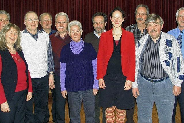 Der Gesangverein feiert 2012 den 150. Geburtstag