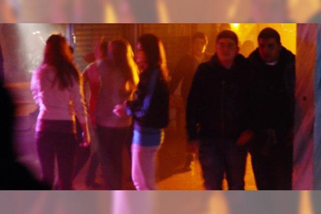 Jugend macht große Disco