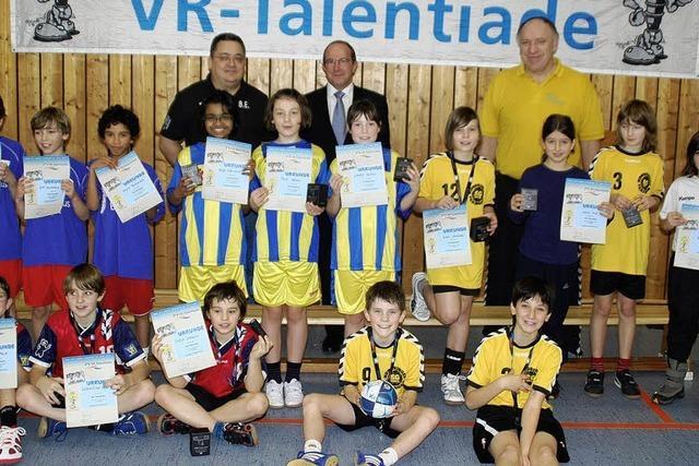 Förderung für junge Talente
