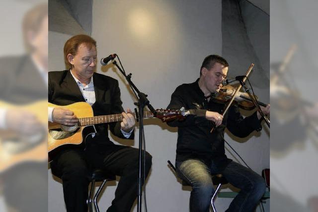 Irische Musik begeistert Zuschauer