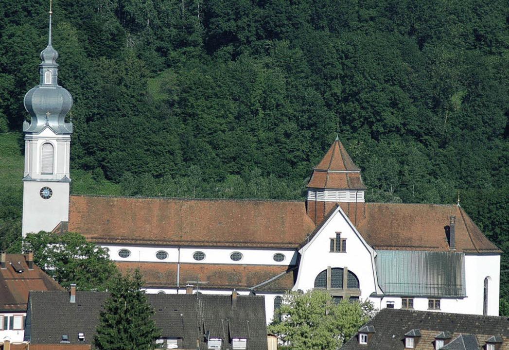 Feiert ihren 100. Geburtstag und der K...t: Die Wehrer Pfarrkirche St. Martin.   | Foto: Ralf Dorweiler