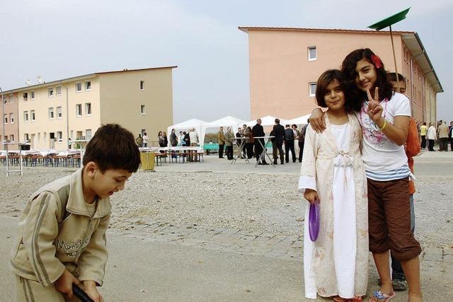 In der Asylunterkunft wird es enger